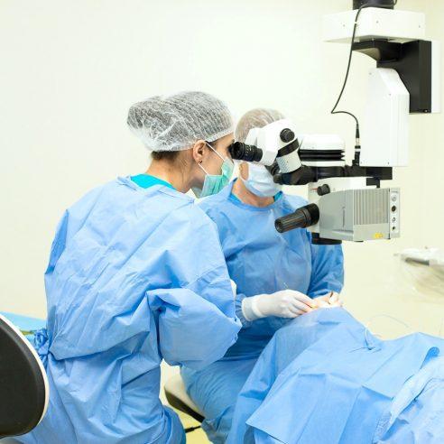 operație pterigion